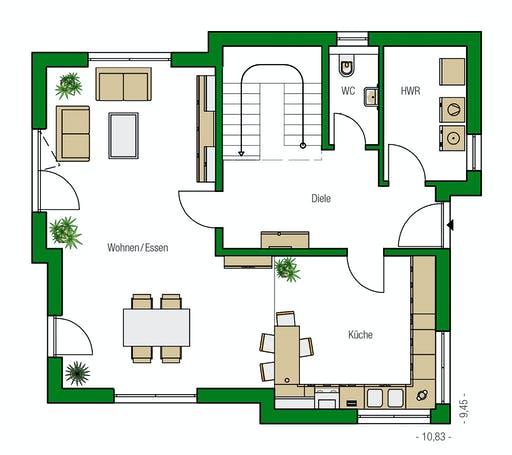 Helma - Malaga Floorplan 1