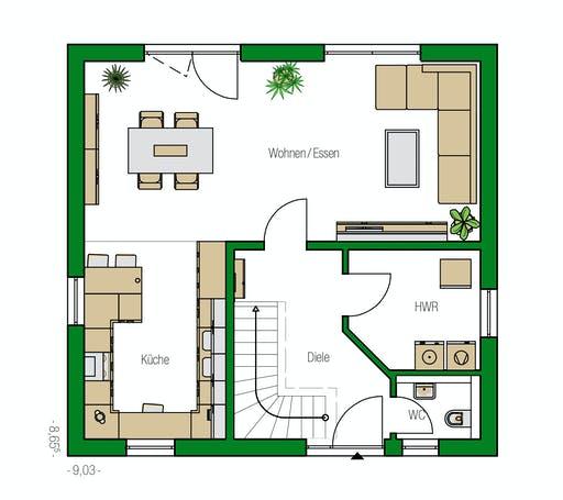Helma - Potsdam Floorplan 1