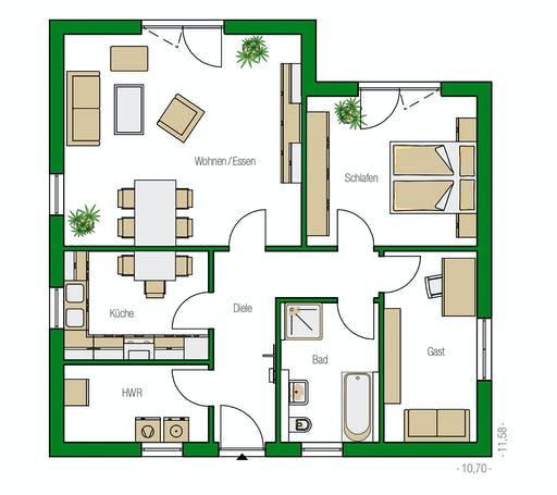 Helma - Rostock Floorplan 1