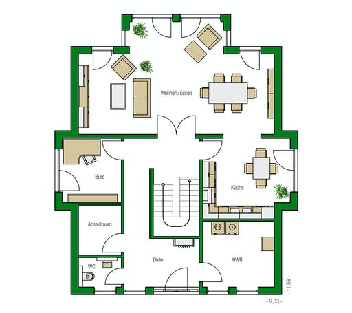 Helma - Strasbourg Floorplan 1
