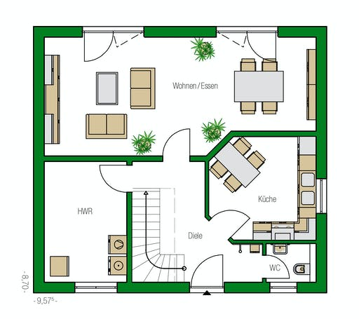 Helma - Toulouse Floorplan 1