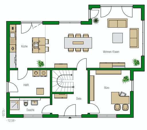Helma - Treviso Floorplan 1