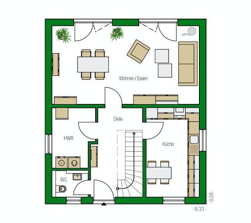 Helma - Turin Floorplan 1