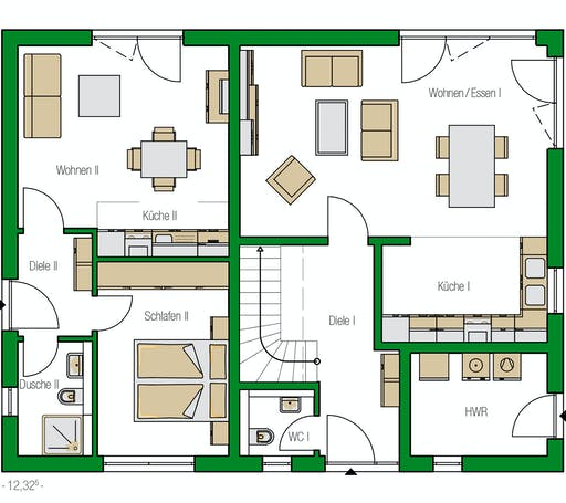 Helma - Utrecht Floorplan 1