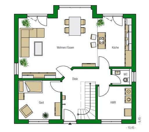 Helma - Verona Floorplan 1