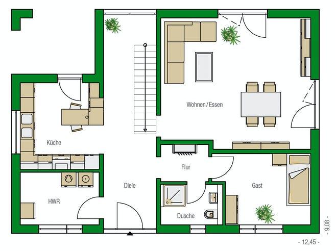 Helma - Weimar Floorplan 1