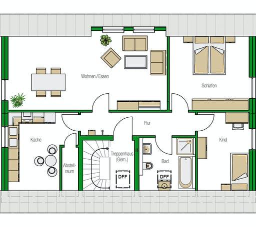 Helma - Zürich Floorplan 1