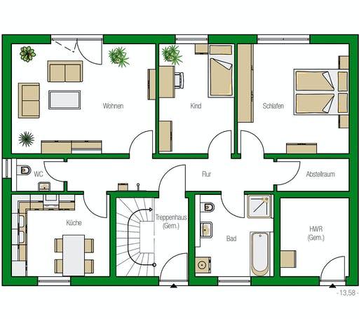 Helma - Zürich Floorplan 2