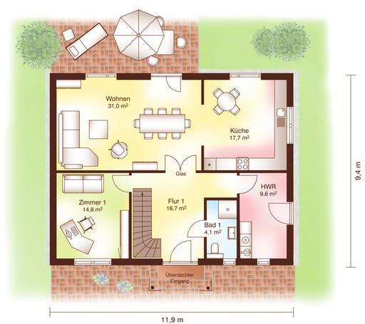 Helsingör Floorplan 1