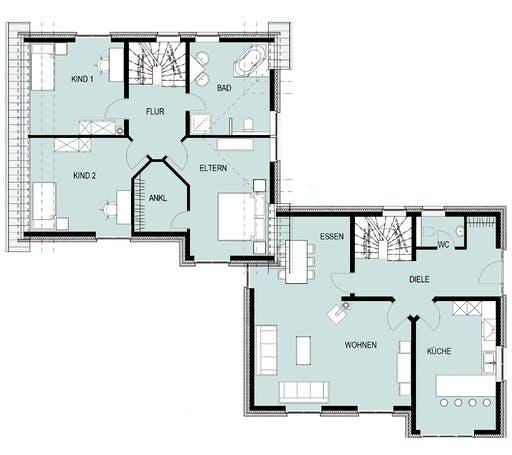 Helsti - Beckum Floorplan 1