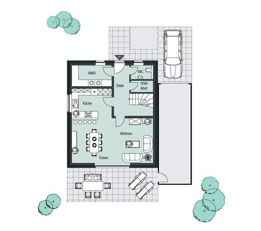 Helsti - Brügge Floorplan 1