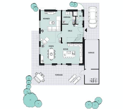 Helsti - Oslo Vario Floorplan 1