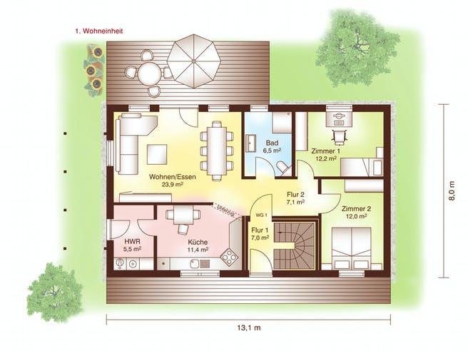 Holbäk Floorplan 1