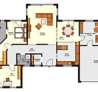 Bungalow 163 (inactive) Grundriss