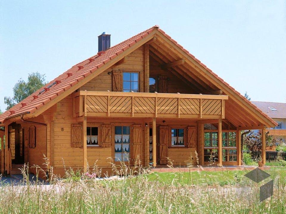 B162 Sutter von Frammelsberger Holzhaus Außenansicht