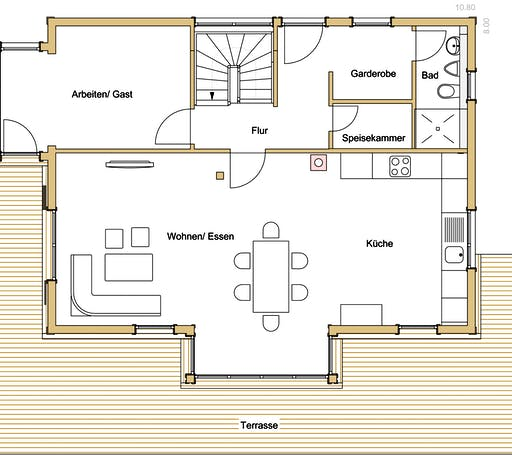 Holz 155 Floorplan 1