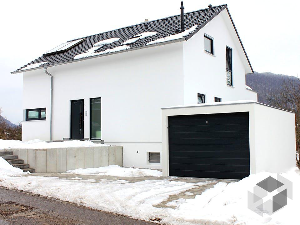 Homestory 114 von Lehner Haus Außenansicht