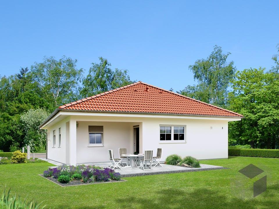 Homestory 221 von Lehner Haus Außenansicht