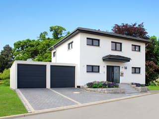 Homestory 280 von Lehner Haus Außenansicht 1