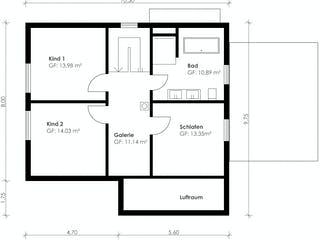 Homestory 348 von Lehner Haus Grundriss 1