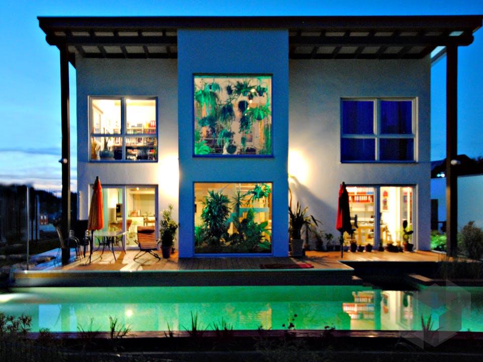 Homestory 359 von Lehner Haus Außenansicht