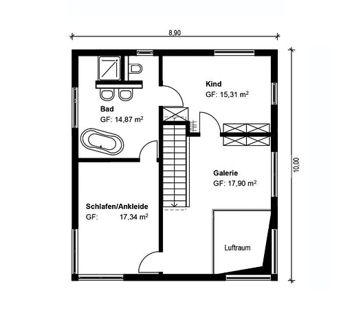 Homestory 314 Floorplan 2