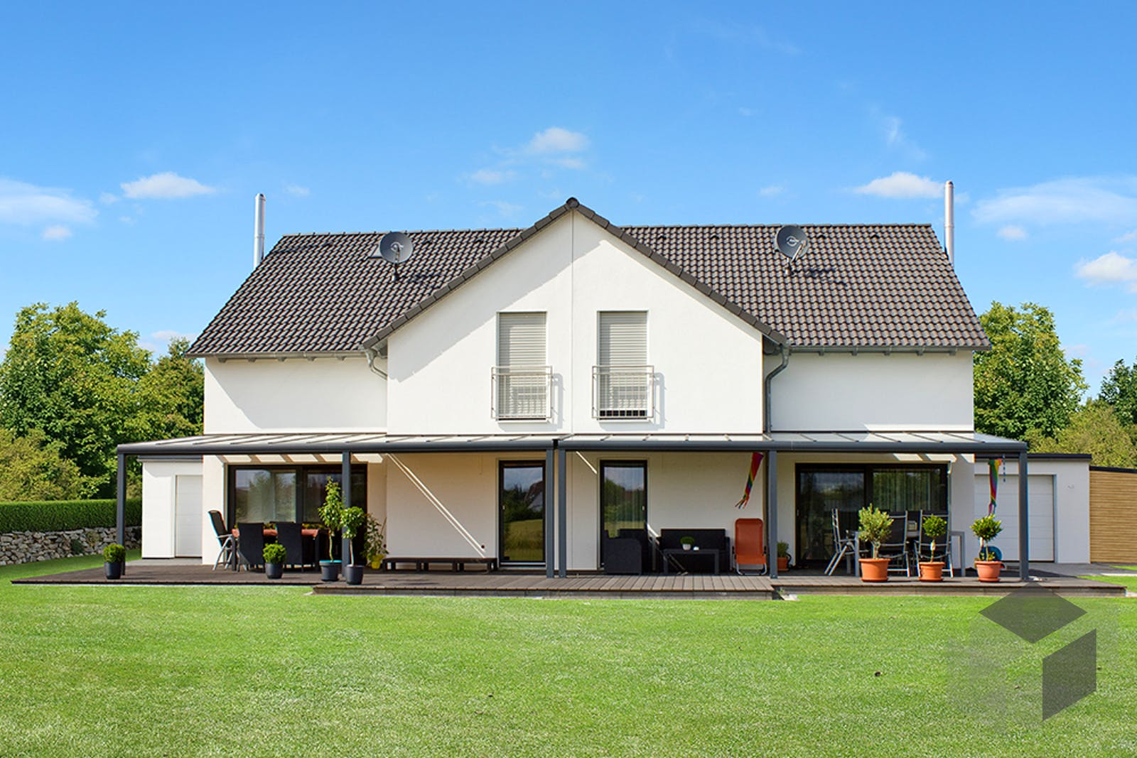 homestory 343 von lehner haus komplette daten bersicht. Black Bedroom Furniture Sets. Home Design Ideas