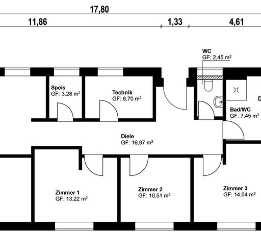 Homestory 381 Floorplan 1
