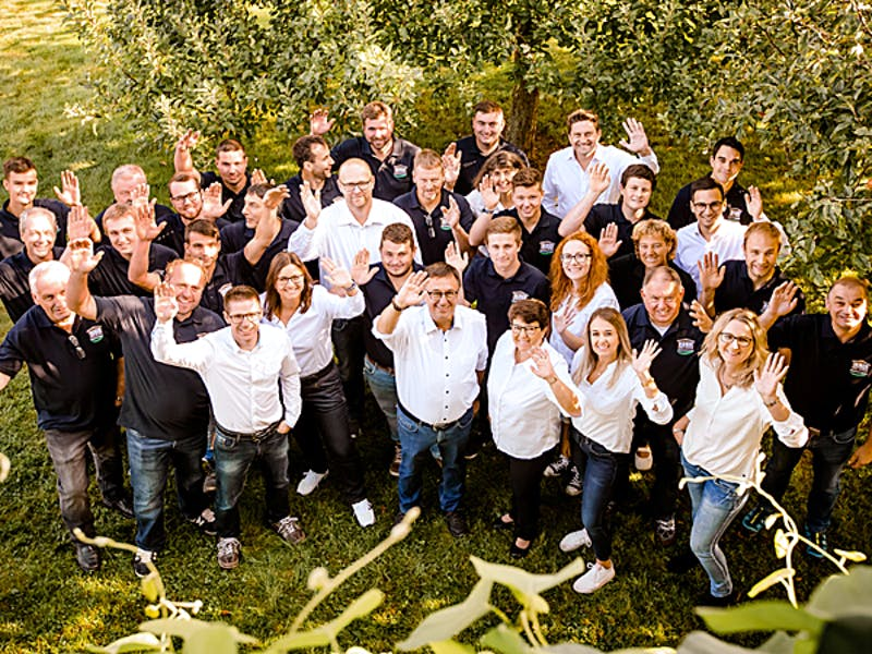 Team von Huber Holzbau