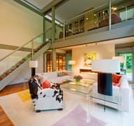 HUF Haus mit Flachdach Innenaufnahmen