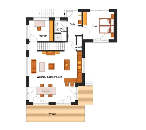 Hunold - Klosterholz Floorplan 1