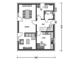 Alto 520 von Heinz von Heiden Massivhäuser Grundriss 1