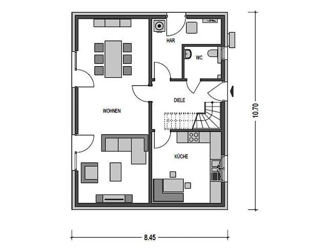 Heinz von Heiden - Alto 520 Floorplan 1