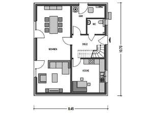 Einfamilienhaus Alto 520 Grundriss