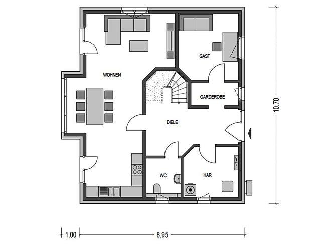 Heinz von Heiden - Alto 621 Floorplan 1