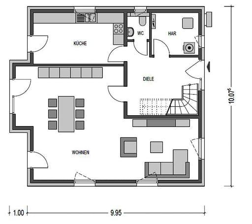 Heinz von Heiden - Alto H10 Floorplan 1