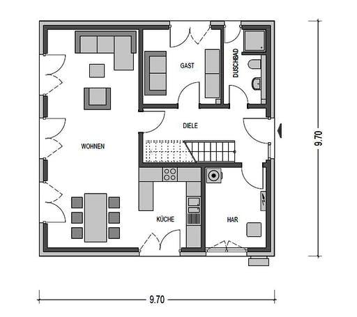 Heinz von Heiden - Arcus 140 Floorplan 1