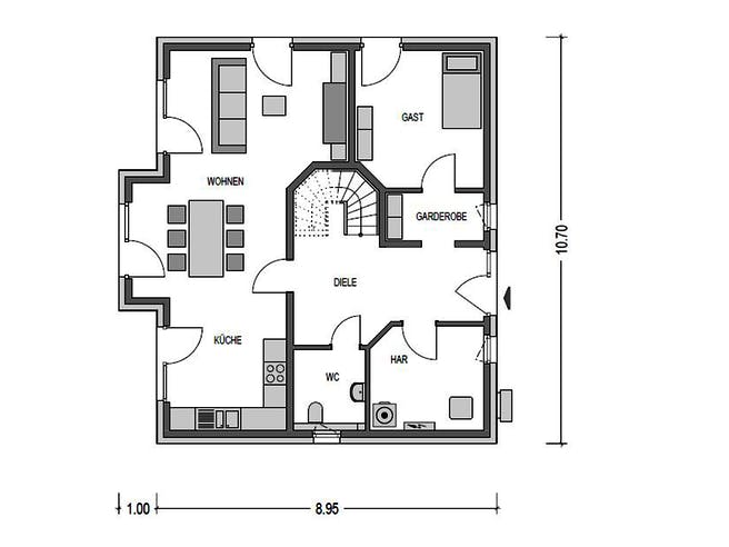 Heinz von Heiden - Calvus 620 Floorplan 1
