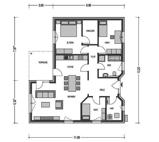 Heinz von Heiden - Cumulus 651 Floorplan 1