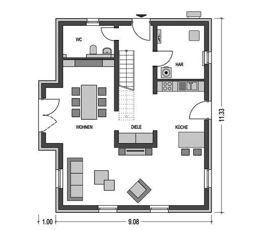 HvH - Alto 631 Floorplan 1