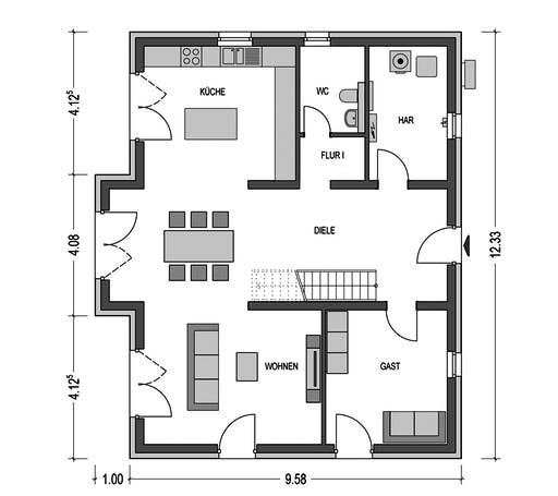 HvH - Alto 740 Floorplan 1