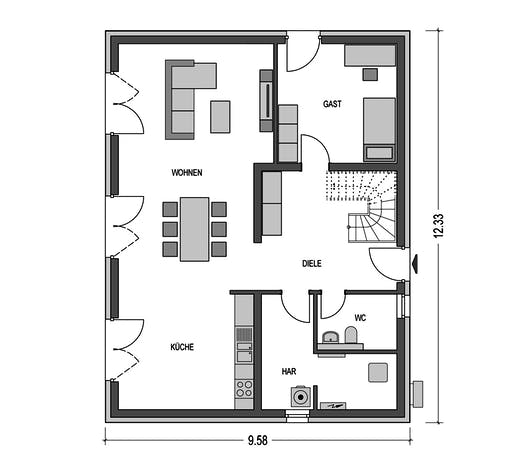HvH - Alto 741 Floorplan 1