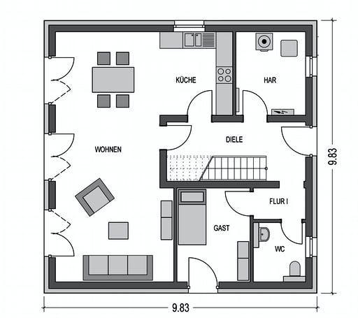 HvH - Arcus 150 Floorplan 1