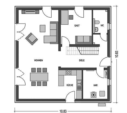 HvH - Arcus B10 Floorplan 1