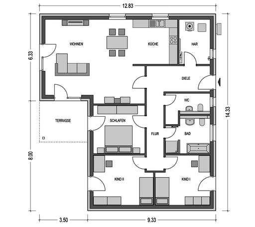 HvH - Cumulus 670 Floorplan 1