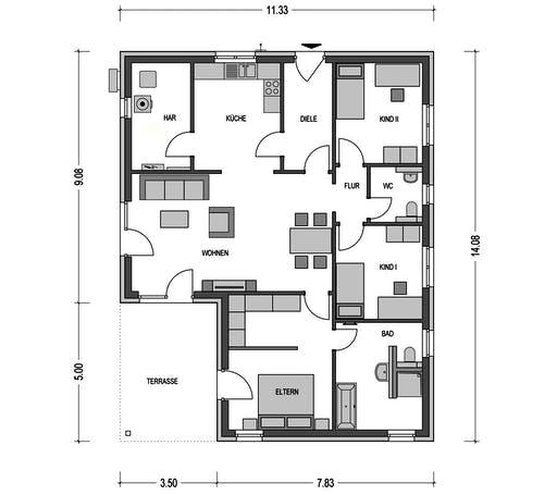 Heinz von Heiden - Cumulus 960 Floorplan 1