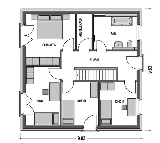 HvH - Effizienzhaus V15 Floorplan 2