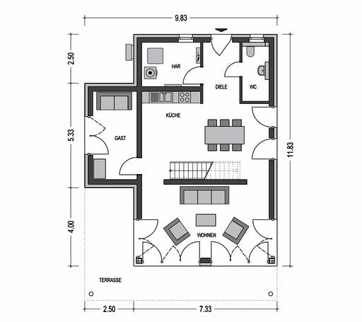HvH - Stratus 730 Floorplan 1