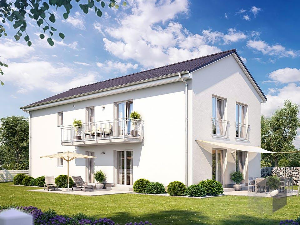 Zweifamilienhaus 490 von Heinz von Heiden Massivhäuser Außenansicht