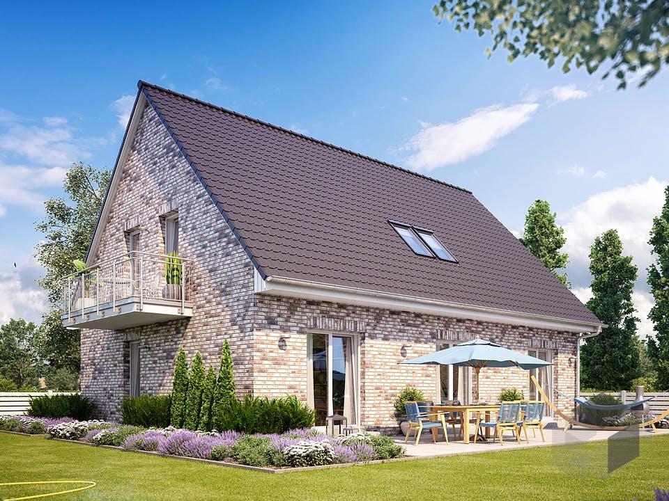 Zweifamilienhaus 740 von Heinz von Heiden Massivhäuser Außenansicht